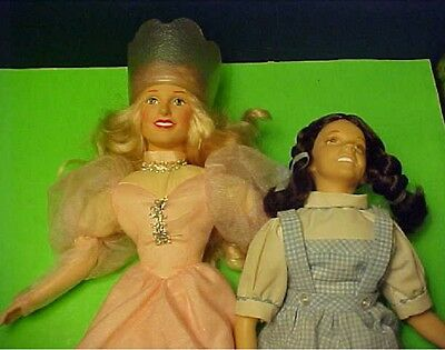 The Wizard of Oz Glinda the Good Witch & Dorothy dolls