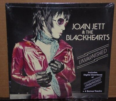 Joan Jett & the Blackhearts Unvarnished SEALED NEW vinyl LP record 2013