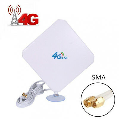4G LTE Antenna Dual Mimo 35dBi High Gain Network Ethernet Outdoor Signal...