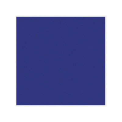 "Coloured Gel Sheet 48""x21"" (Colour Deep Blue 120)"