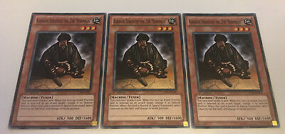 3 x Karakuri Strategist MDL 248 Nishipachi STBL-EN021 Playset Common Yugioh Card