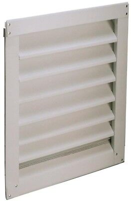 Air Vent White Rectangle Aluminum Gable Vent 14.5-in x 20.5-in