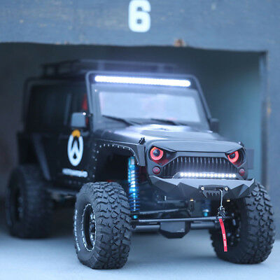 LED Light Scheinwerfer für 1/10 Jeep Wrangler Rubicon Body Axial SCX10 RC4WD D90