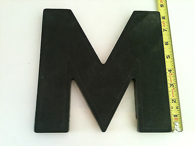 """Vintage Wagner  8"""" Art Deco Marquee Letters M through X"""