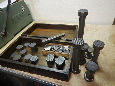Box Of Lapping Tools Machinist Tooling Jig Fixture