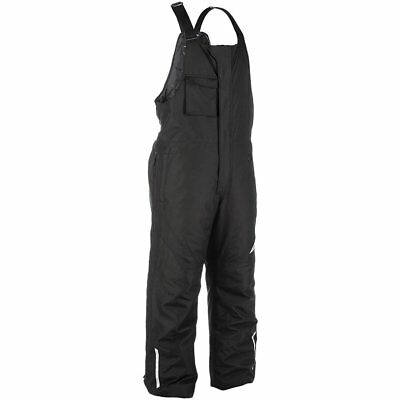 Fly Racing Aurora Insulated Snow Bib Men's Winter Snocross Snowmobile Black MED