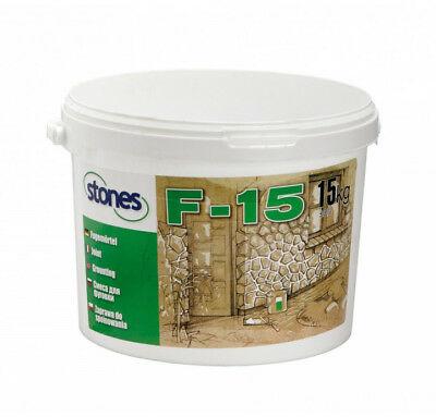 Brick slips, stone cladding, Tiling , Point, Pointing mortar ready mix 15kg F-15
