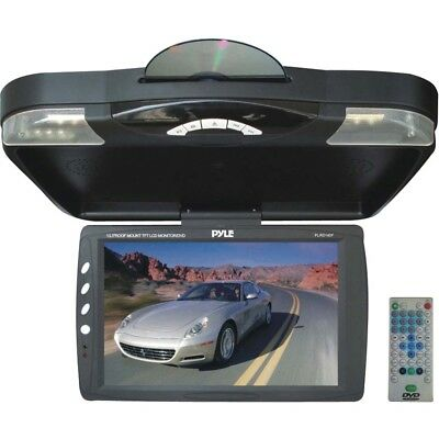 PYLE PLRD143F 13.3 Ceiling-Mount LCD Monitor with DVD Player & IR Transmitter