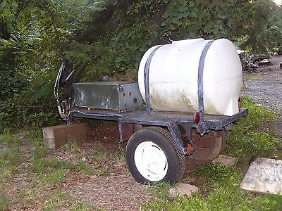 110 Gallon Chemical Tank on a Trailer~Powerwasher