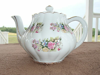 Enesco Import Japan Porcelain Tea Pot Flowers
