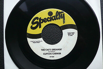 """7"""" Clifton Chenier - Squeeze Box Boogie/ The Cat's Dreamin' - US Specialty"""