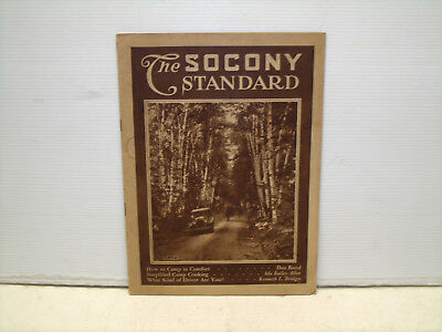 Antique The Socony Standard Magazine 1925 Travel And Tips Standard Oil Co