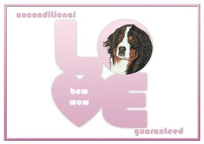 Bernese Love Note Cards