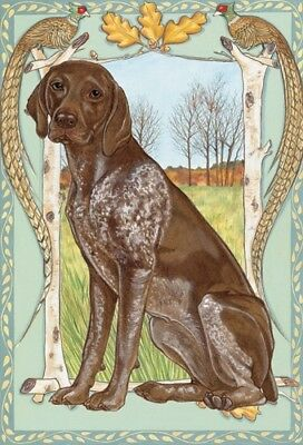 German Shorthaired Pointer Blank Note Card