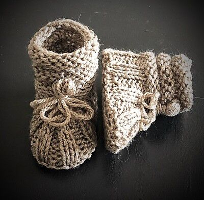 NewbieBoots©️Baby Boots KNITTING PATTERN - To Fit Absolute Newborn