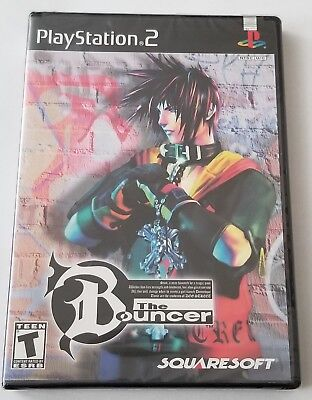 New! The Bouncer (Sony PlayStation 2, 2001) PS2 - Factory Sealed SQUARESOFT