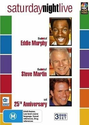 Saturday Night Live - Best Of Eddie Murphy, Steve Martin & 25 Years (DVD, 2005)