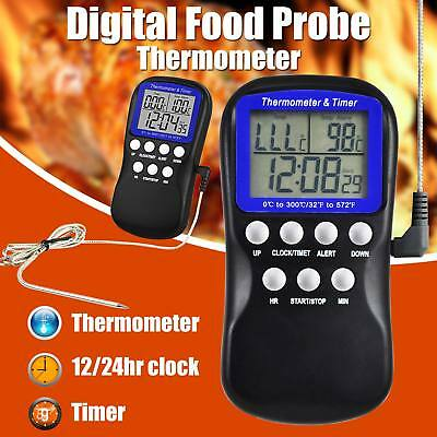 Digital Meat Thermometer Electronic Cooking Food Thermometer For Oven Grill BBQ