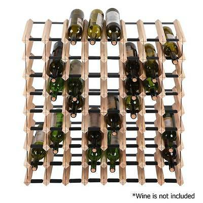 72 Bottle Timber Wine Rack Wine Storage System