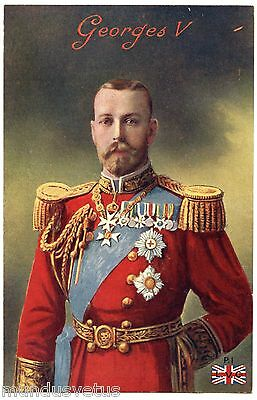 Ww1 .  King  George V . Roi Georges V