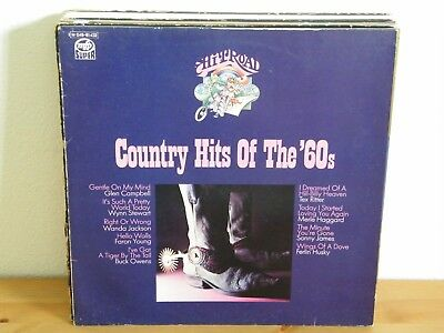 Various – Country Hits Of The `60s - LP gewaschen