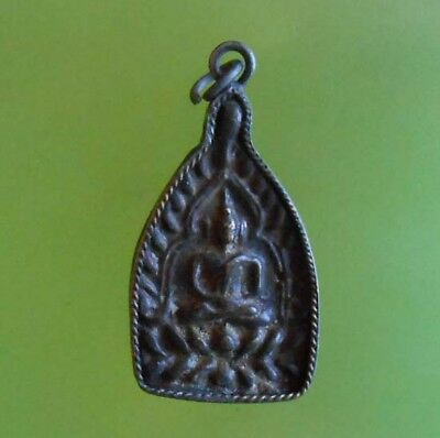 Top! Lp Boon Thai Buddha Rich And Success Amulet From Siam