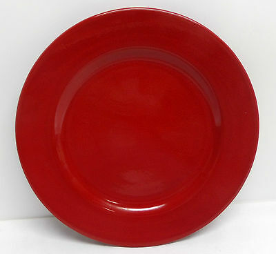 "Waechtersbach Cherry Red 10"" Dinner Plate Fun Factory Germany"