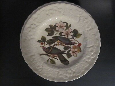 """8x different 9"""" salad plates - ALFRED MEAKIN AUDUBON'S BIRDS OF AMERICA PLATES"""