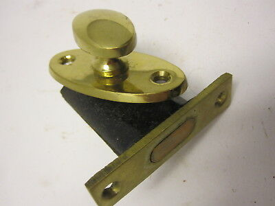 brass knob and lock for cabinet door