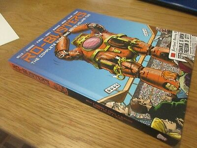 hardback graphic novel 2000ad ro-busters volume two the complete nuts and bolts