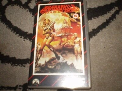 barbarella vhs video jane fonda  1968