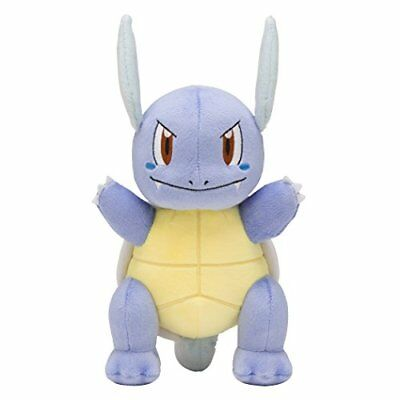Pokemon Center Original Plush Doll stuffed Wartortle from Japan Free Shipping