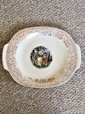 Sebring Pottery USA Chantilly ITS-284 22K Gold Platter