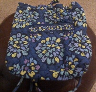 Vera Bradley Drawstring Purple Gently Used