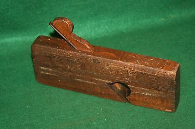 "Nice Antique 19th Century Currie Glasglow Skew Rabbet 1-3/8""  Plane Inv#JB66"