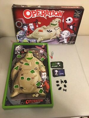 Disney's The Nightmare Before Christmas OPERATION Game *Replacement Parts* 2016