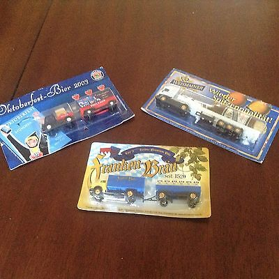 German Beer Trucks, set of 3