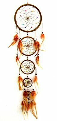 Large Dream Catcher Hanging Colorful Feathers Wall Home Office Car Ornament 33''