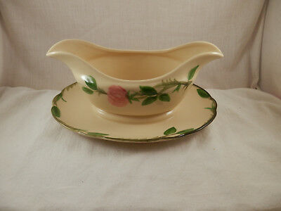 Franciscan Desert Rose Gravy Boat  1960's  California USA 8 3/4""