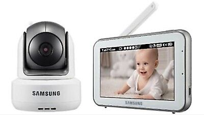 SEW-3043W Samsung Wisenet BrightVIEW HD Baby Video Monitoring System IR Night
