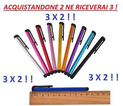 STYLUS PEN TOUCH SCREEN CAPACITIVO smartphone tablet IPAD iphone SAMSUNG NOKIA