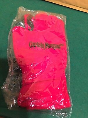 Captain Morgan Red Gloves Brand New!