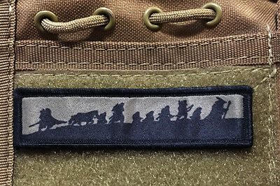 1x4 Lord of the Rings Morale Patch Tactical Military Army Badge Hook Flag
