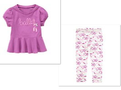 NEW GYMBOREE Girls  Pants  Prima Ballerina  Outfit NWT  SIZE 12-18 MONTHS