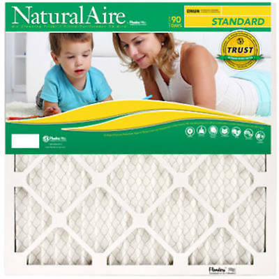 Natural Aire Standard Pleated Air Filter: 22 Different Sizes: MERV 8