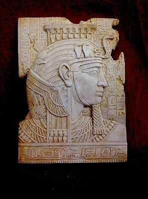 Ancient Egyptian Wall Plaque King Tut Mask