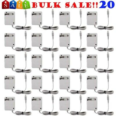 20/LOT Home Travel Charger AC Power Adapter for DSi / XL /3DS LL XL EG
