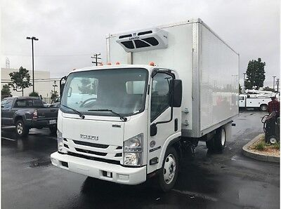 New Isuzu NPR XD 16ft Box Refrigerated Truck Nqr Nrr Hino 155 Ford F650 Ud chevy
