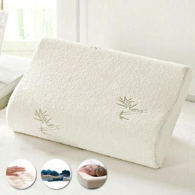 1pcs Bamboo Memory Foam Pillow Orthopaedic Head Neck Back Support High Quality