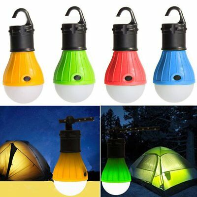 Outdoor Emergency Light Hanging Camping Tent LED Bulb for Fishing Hiking Hut
